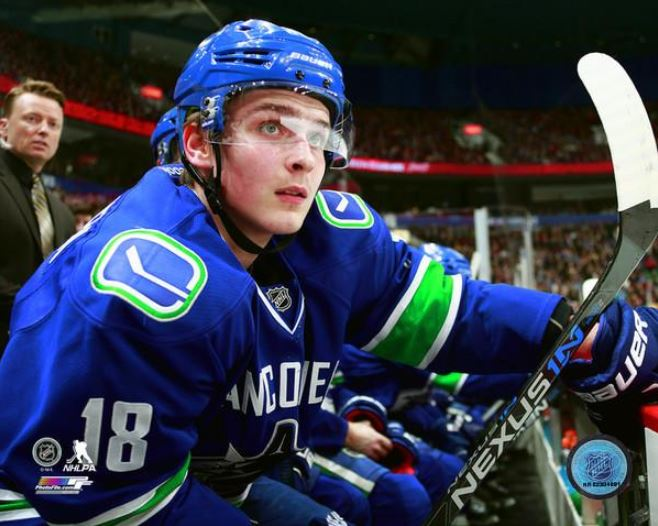 Jake Virtanen Vancouver Canucks 8x10 Photo