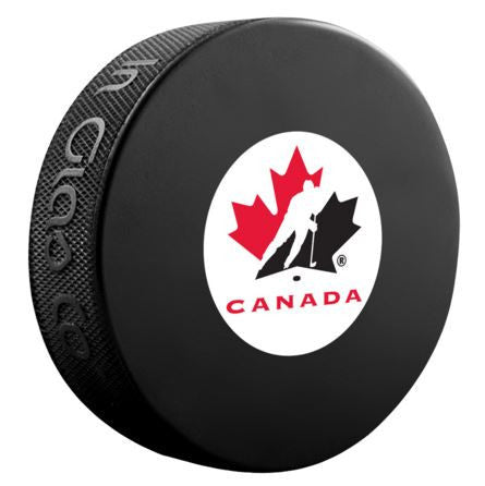 Team Canada Unsigned Puck