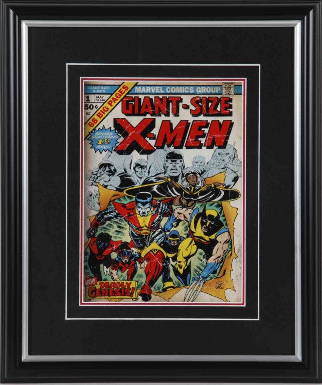 Giant-Size X-Men #1 Framed 8x10 Comic Book Cover
