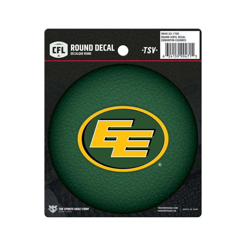 Edmonton Eskimos Vinyl Decal Sticker