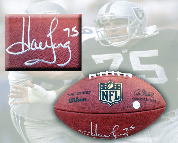 Howie Long Autographed Official NFL Game Ball