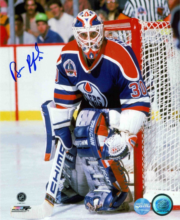 Bill Ranford Edmonton Oilers Autographed 16x20 Photo