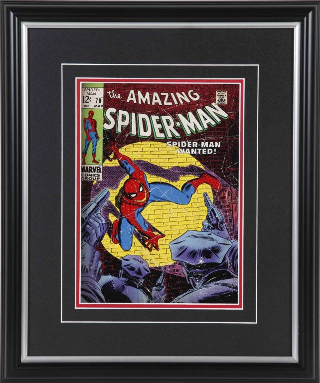 Amazing Spider-Man #70 Framed 8x10 Comic Cover