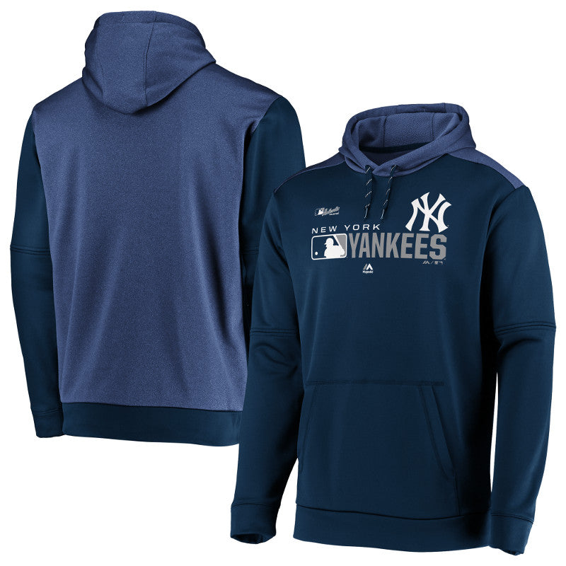 New York Yankees Authentic Collection Team Distinction Hoodie