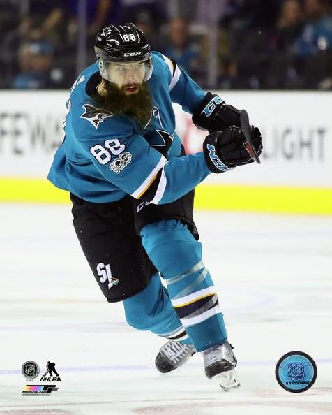 Brent Burns San Jose Sharks 8x10 Photograph