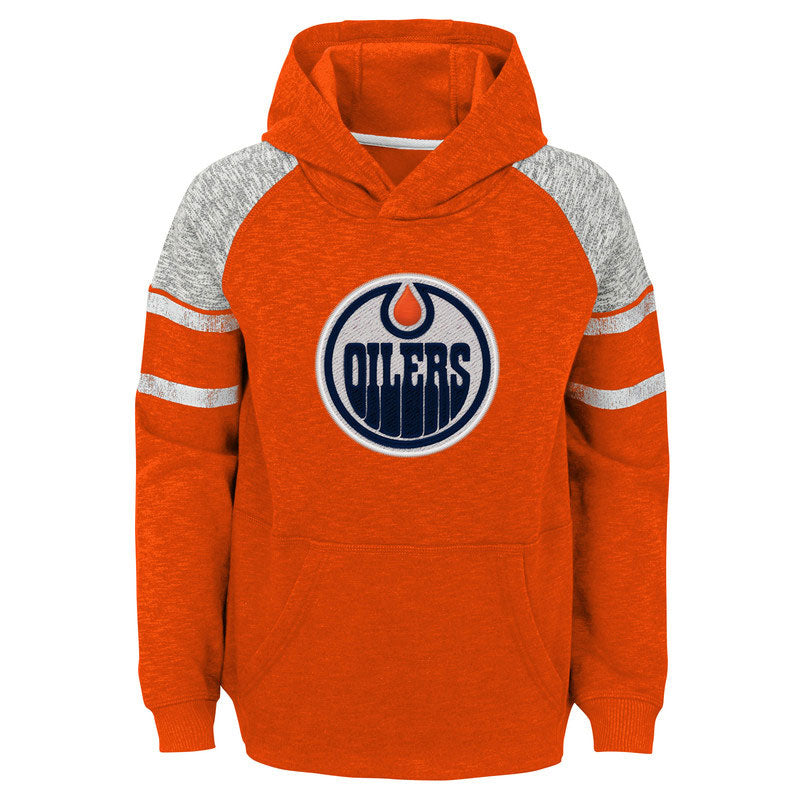 Edmonton Oilers Youth Left Winger Raglan Hood