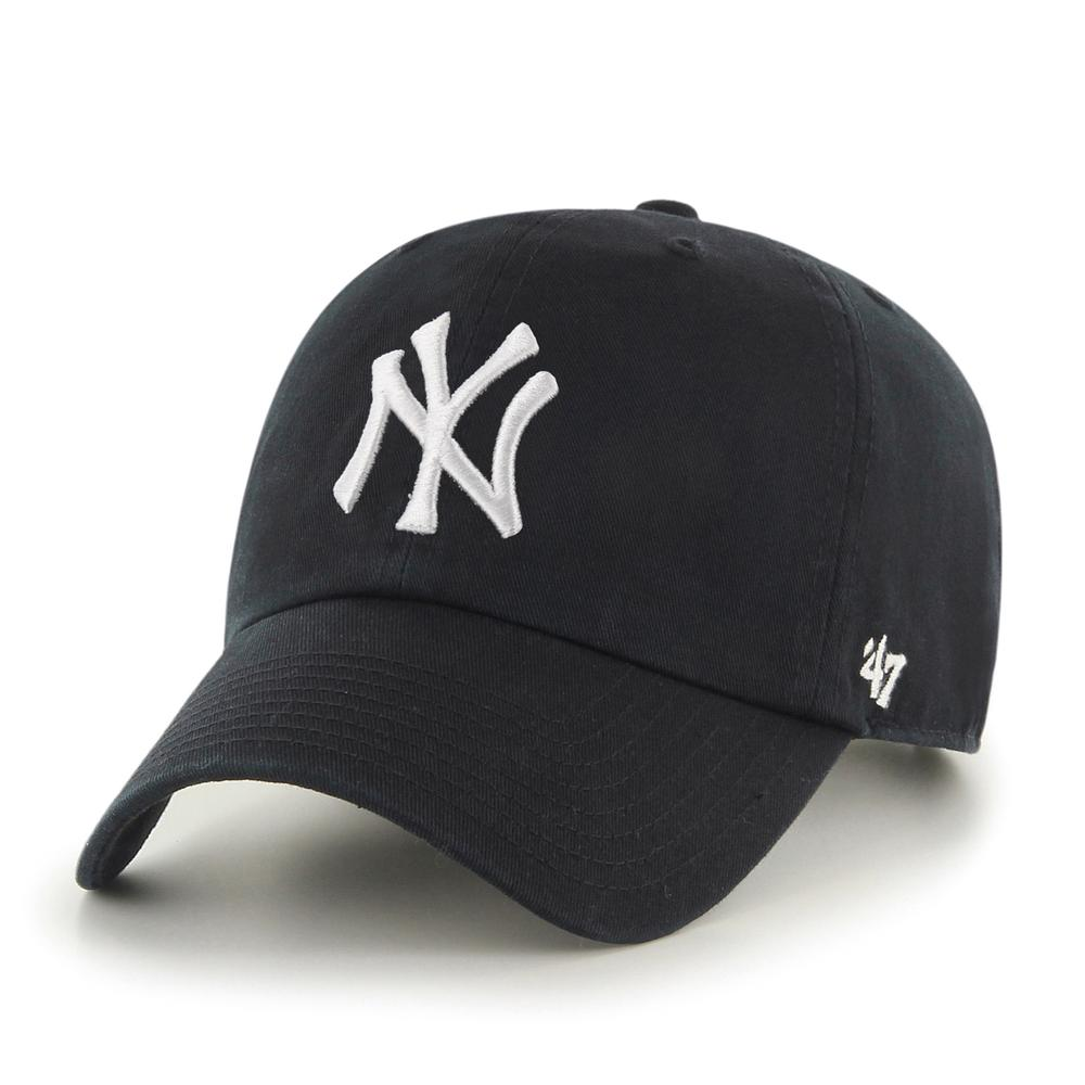 New York Yankees Alt Black '47 Clean Up Cap
