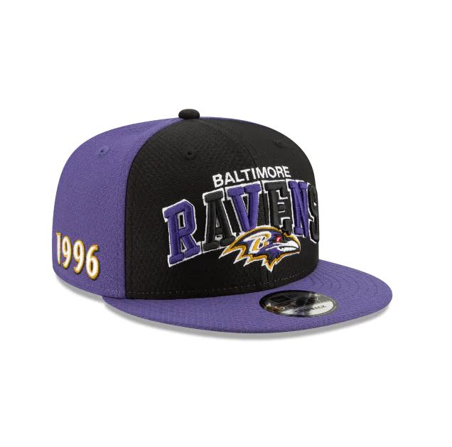 Baltimore Ravens New Era 9Fifty 2019 NFL Sideline Cap