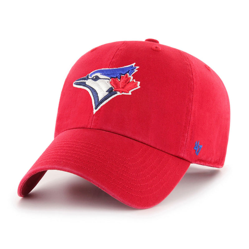 Toronto Blue Jays Alt Red '47 Clean Up Cap