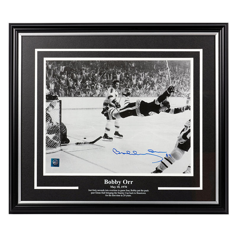 Bobby Orr Boston Bruins Autographed 11x14 Framed Photo