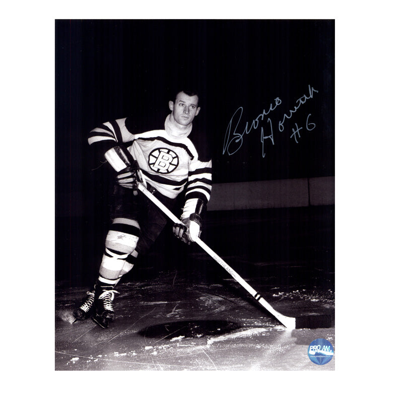 Bronco Horvath Boston Bruins Autographed 8x10 Photo