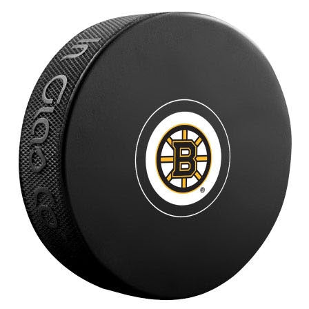 Boston Bruins Unsigned Puck