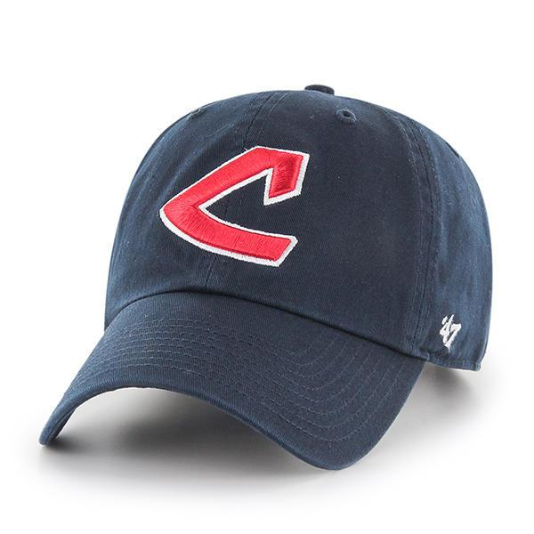 Cleveland Indians Cooperstown '47 Clean Up Cap