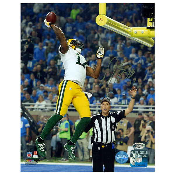 Davante Adams Green Bay Packers Autographed 8x10 Photo