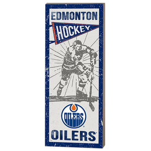 Edmonton Oilers Vintage Player Plaque