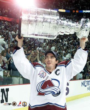 Joe Sakic Colorado Avalanche 11x14 Photograph