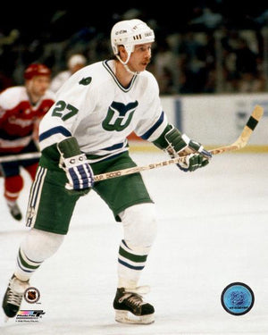 Marty Howe Hartford Whalers 8x10 Photograph