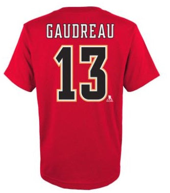 Youth Johnny Gaudreau Name & Number Tee