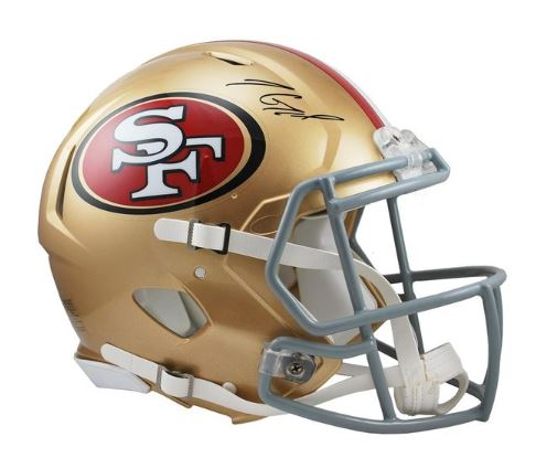 Jimmy Garoppolo San Francisco 49ers Signed Speed Replica Helmet