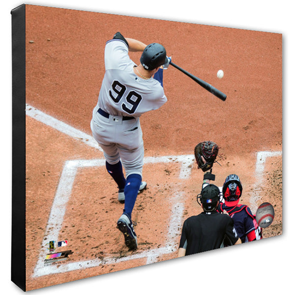 Aaron Judge New York Yankees 24x30 Stretched Canvas