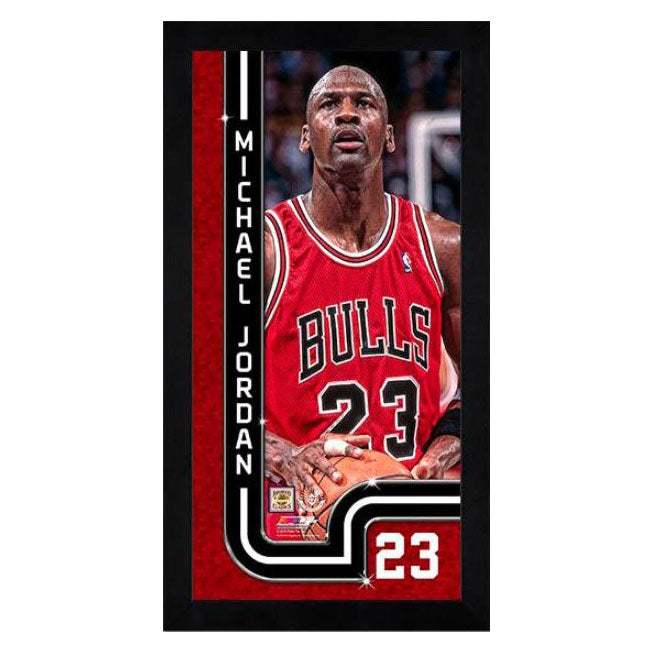Michael Jordan Chicago Bulls Mini Frame