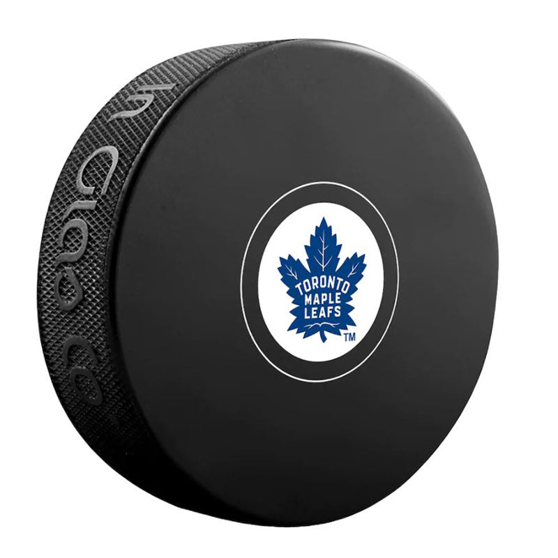 Toronto Maple Leafs Unsigned Puck