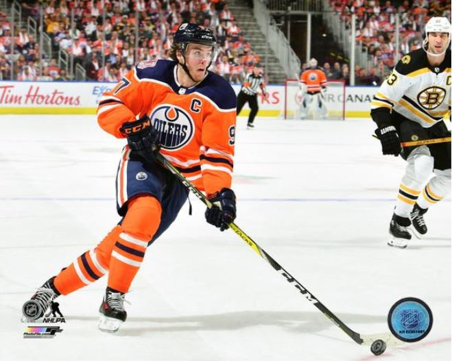 Connor McDavid Edmonton Oilers 8x10 Photo