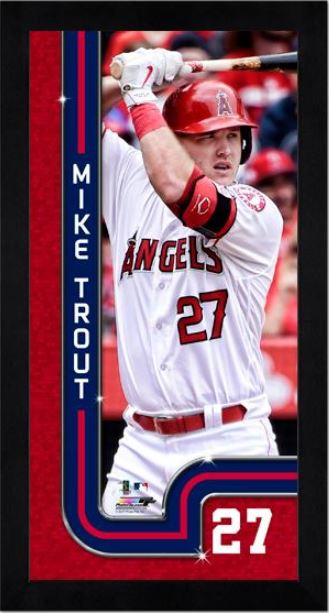 Mike Trout Los Angeles Angels Mini Frame