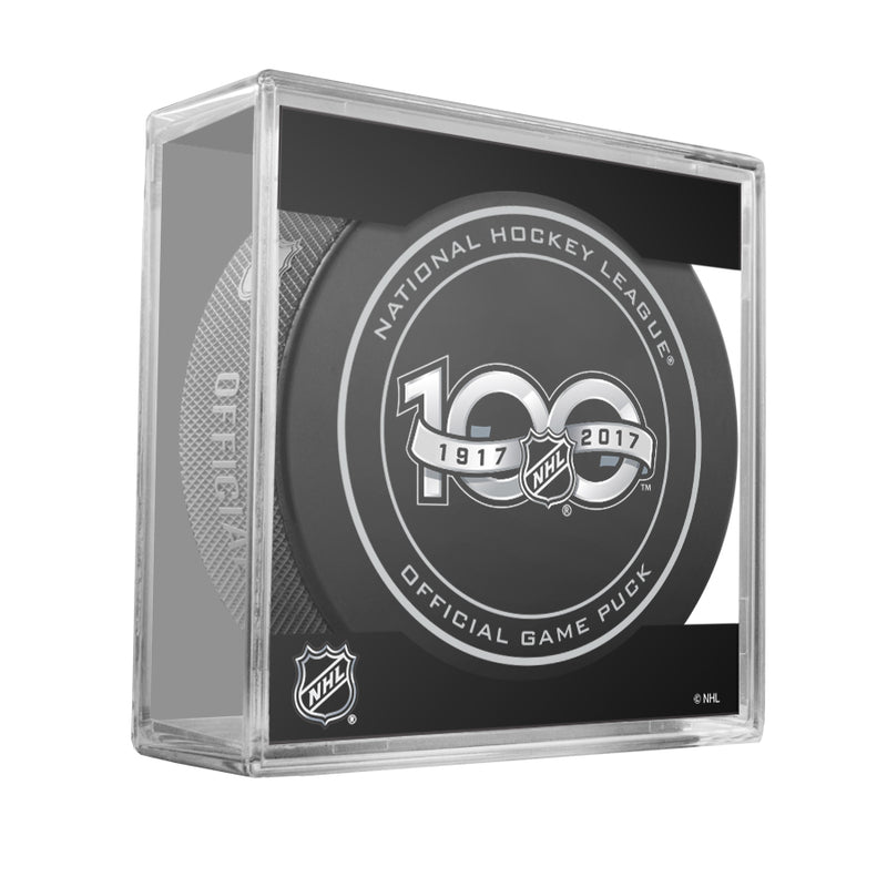 NHL Centennial 100 Seasons 1917-2017 Official NHL Game Puck