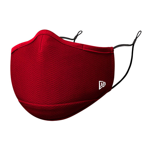New Era Branded Red Face Cover/Mask