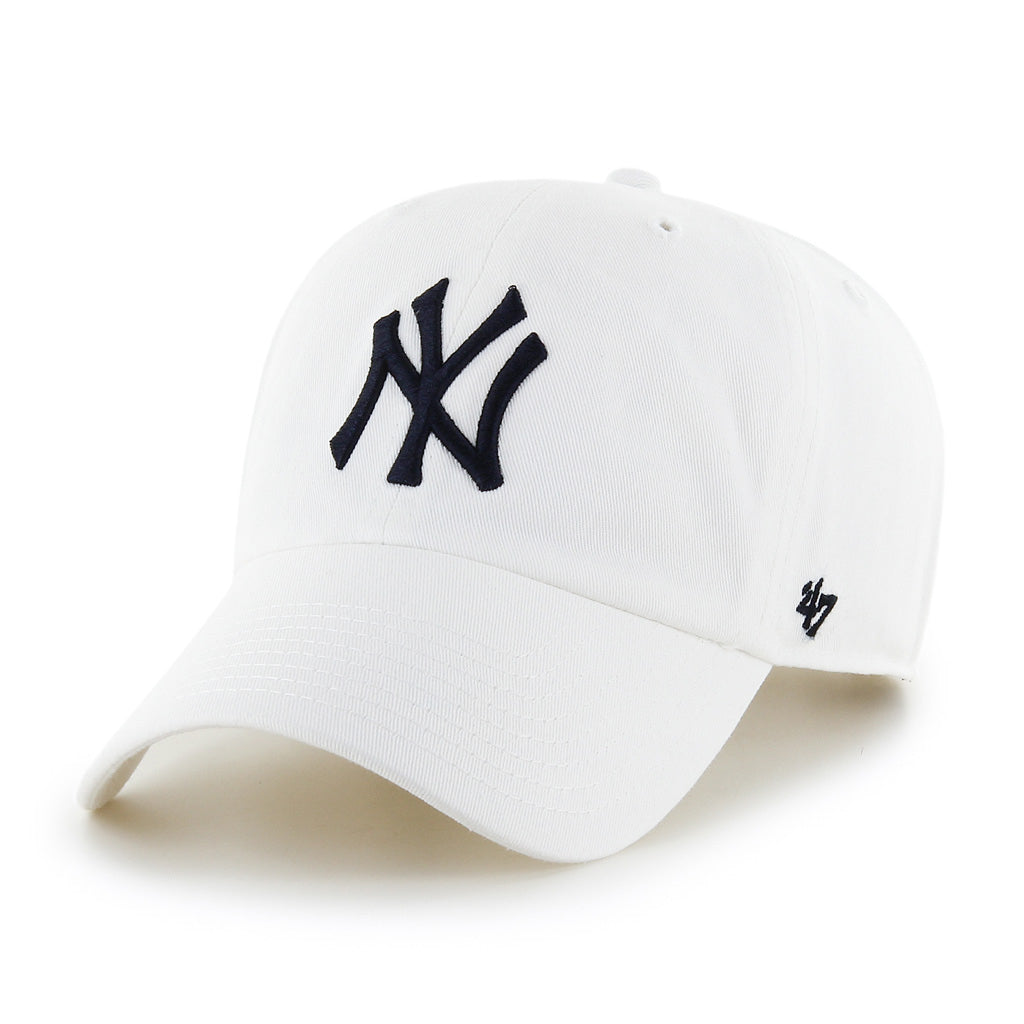 New York Yankees Alt White '47 Clean Up Cap