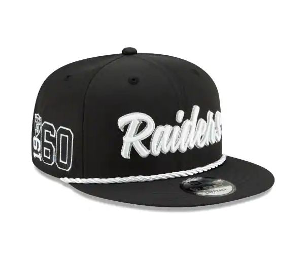 Oakland Raiders New Era 9Fifty 2019 NFL Sideline Cap