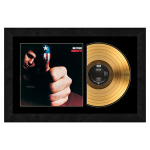 Don McLean Gold Record Frame