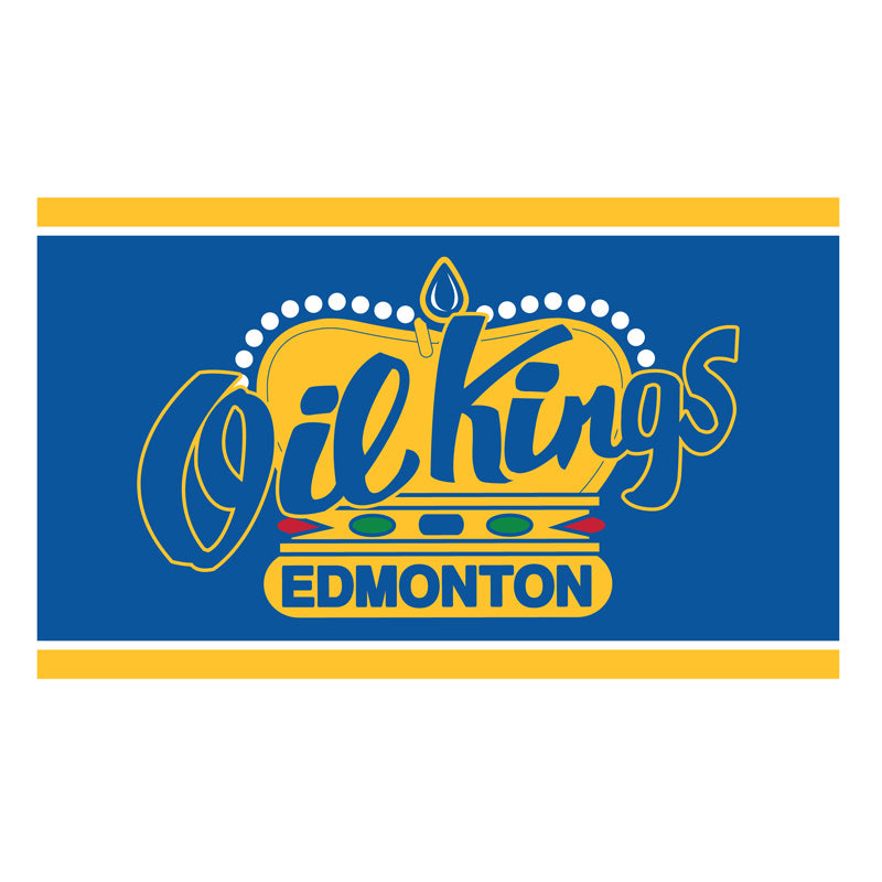 Edmonton Oil Kings Team Flag