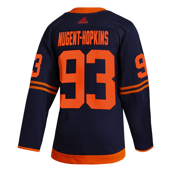 Ryan Nugent-Hopkins Edmonton Oilers NHL adidas Authentic Pro Alternate Jersey with On Ice Cresting