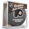 Philadelphia Flyers Puck Coaster Set