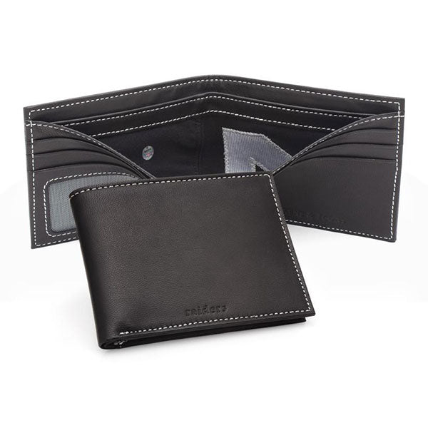 Oakland Raiders Game Used Uniform Wallet