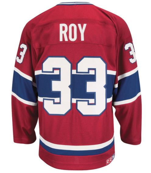 ... Patrick Roy Montreal Canadiens Authentic CCM Jersey ... a5f4108f5e2
