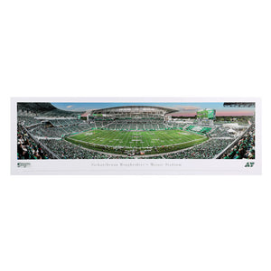 Saskatchewan Roughriders First Game at Mosaic Panoramic Print