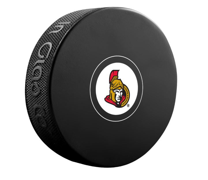 Ottawa Senators Unsigned Puck