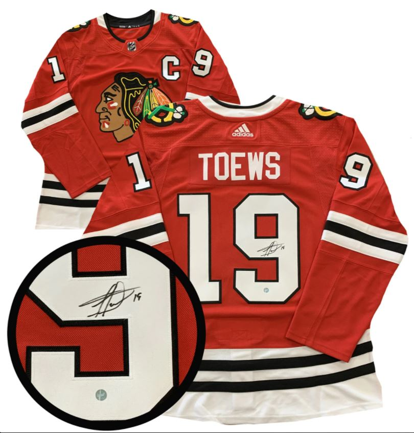 Jonathan Toews Chicago Blackhawks Autographed Home Pro Jersey