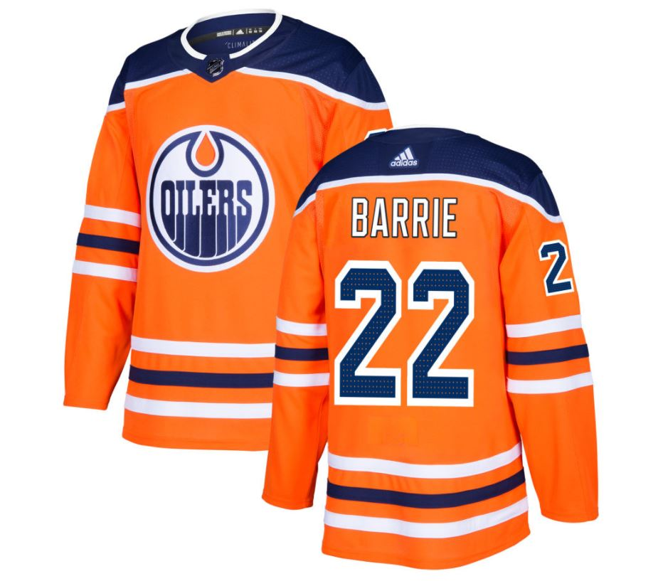 Tyson Barrie Edmonton Oilers NHL Authentic Pro Home Jersey