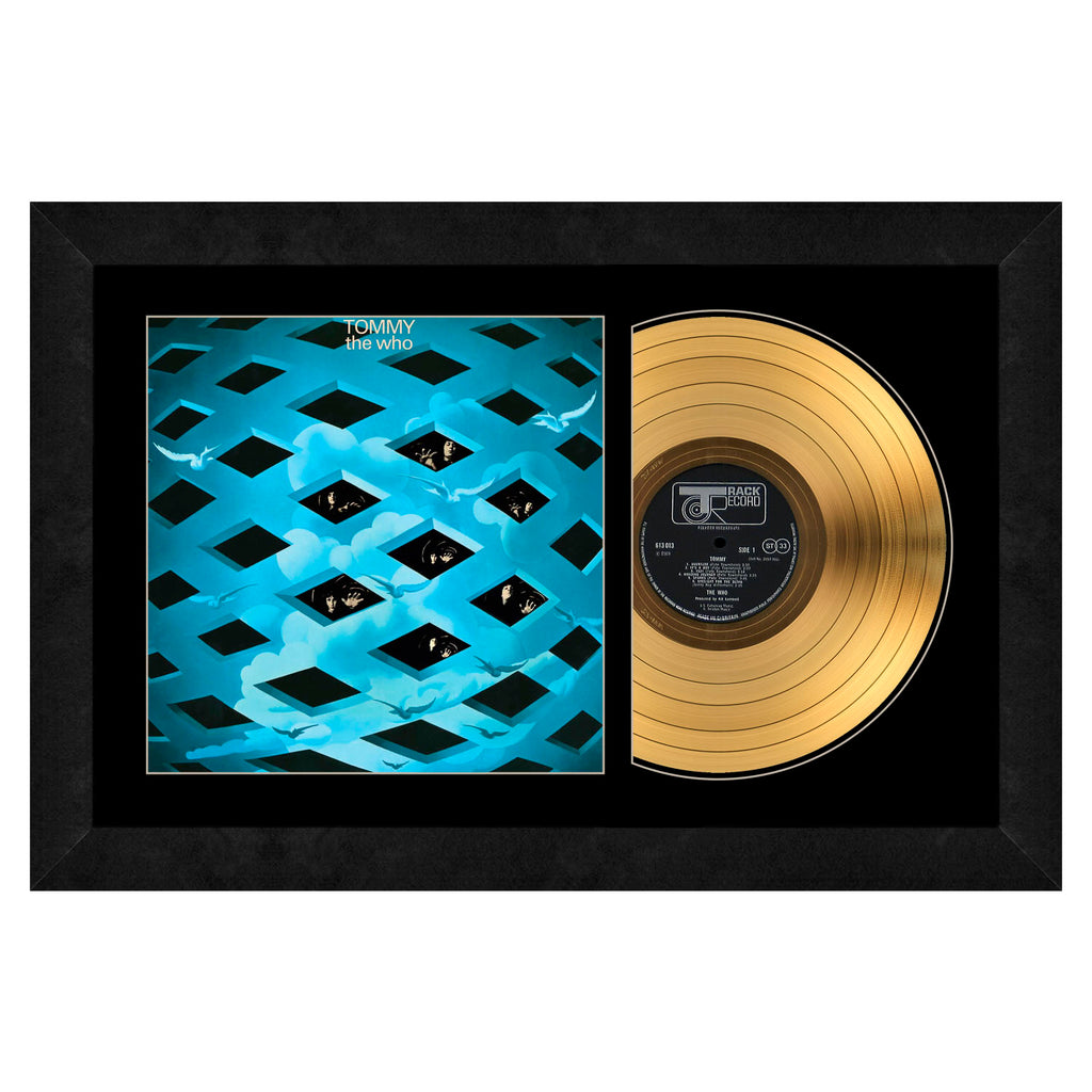 The Who Gold Record Frame