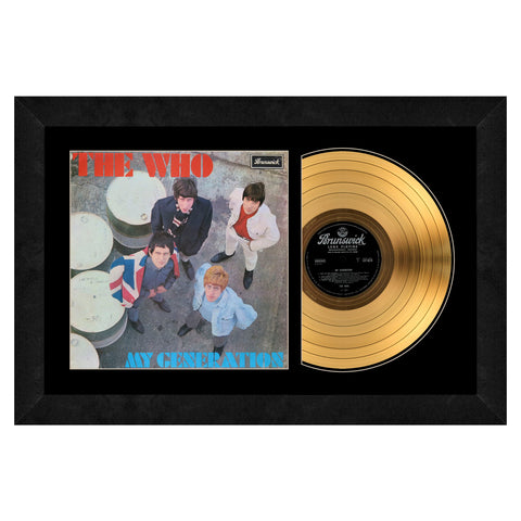 The Beach Boys Gold Record Frame