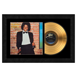 Michael Jackson Gold Record Frame