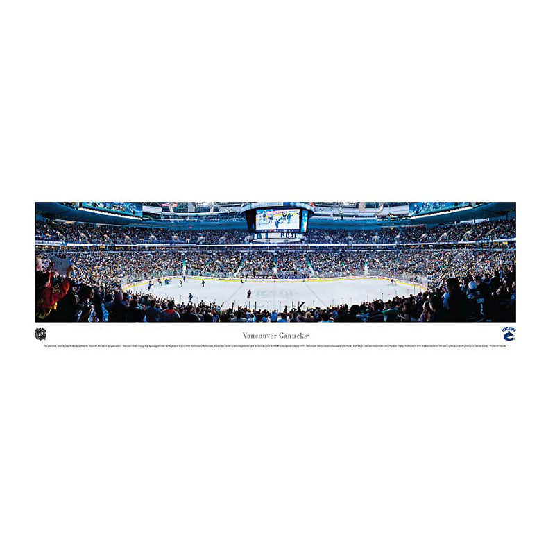 Vancouver Canucks - Rogers Arena Panoramic Print
