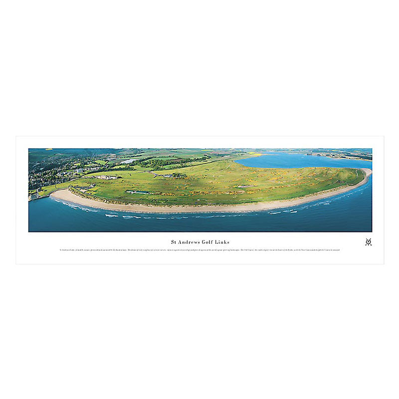 St. Andrews Links Golf Course Panoramic Print