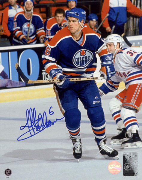 Jeff Beukeboom Edmonton Oilers Autographed 8x10 Photo
