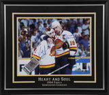 Kirk McLean & Trevor Linden Dual Signed 11x14 Photo