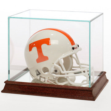 Glass Football Mini Helmet Display Case